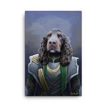 "Load image into Gallery viewer, ""Loki Odie's son"" - Custom Pet Portrait"