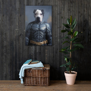 Good Boy Art - Batman Custom Dog and Cat Superhero Portrait