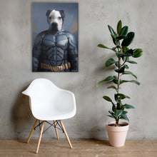 Load image into Gallery viewer, Good Boy Art - Batman Custom Cat and Dog Superhero Canvas
