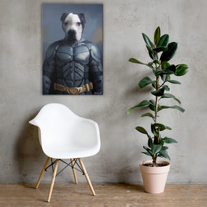 Good Boy Art - Batman Custom Cat and Dog Superhero Canvas