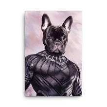 Load image into Gallery viewer, Good Boy Art - Black Panther Custom Pet Superhero Portrait