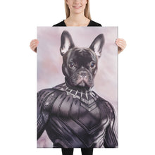 Load image into Gallery viewer, Good Boy Art - Black Panther Custom Dog and Cat Superhero Portrait