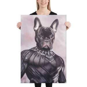 Good Boy Art - Black Panther Custom Dog and Cat Superhero Portrait