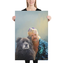 "Load image into Gallery viewer, ""Fido Exotic"" - Custom Pet Portrait"