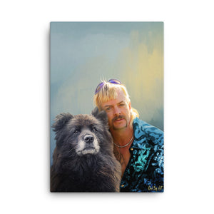 """Fido Exotic"" - Custom Pet Portrait"