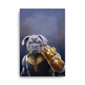 """Infinity Bones"" - Custom Pet Portrait"