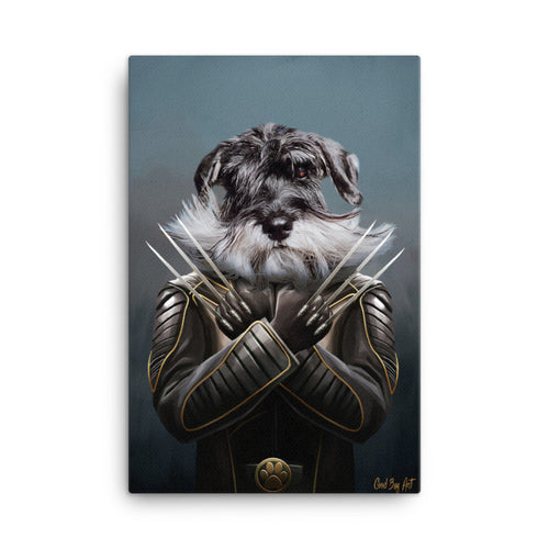 Good Boy Art - Wolverine Custom Pet Superhero Portrait