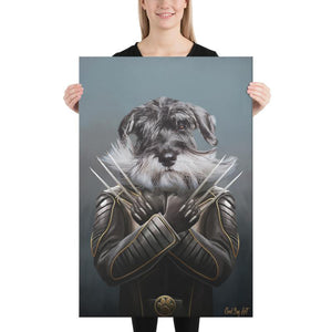 Good Boy Art - Wolverine Custom Dog and Cat Superhero Portrait