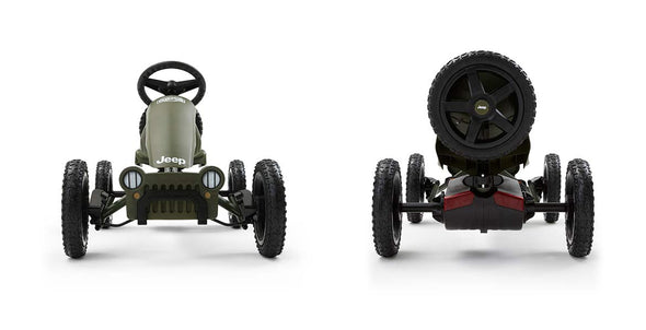 Berg Rally JEEP Adventure Pedal Go-Kart