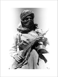 Wazir man with a rifle