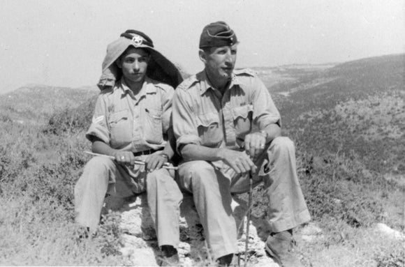 Wilfred Thesiger and Faris Shahin