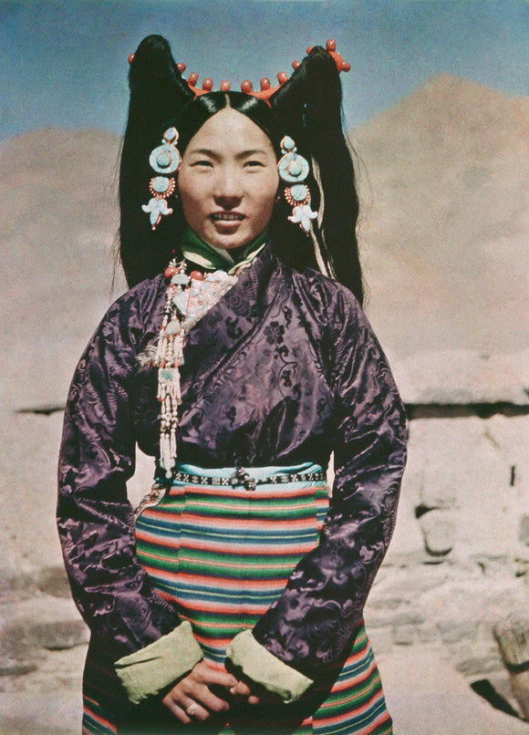 Wife of Tendong Dzongpon