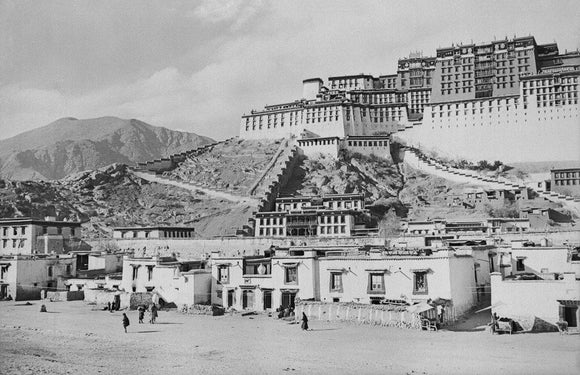 South face of Potala and Sho