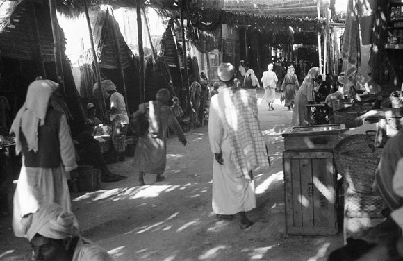 View of a covered suq ...
