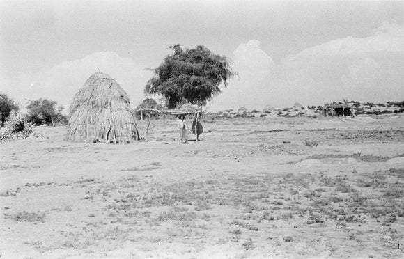 View of a hut with ...