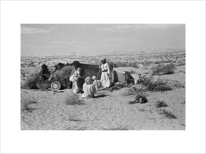 View of a Manasir Bedouin ...