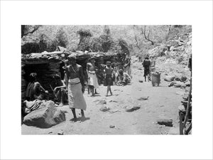 View of Bani Malik tribesmen ...