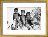 Portrait of three young boys ...