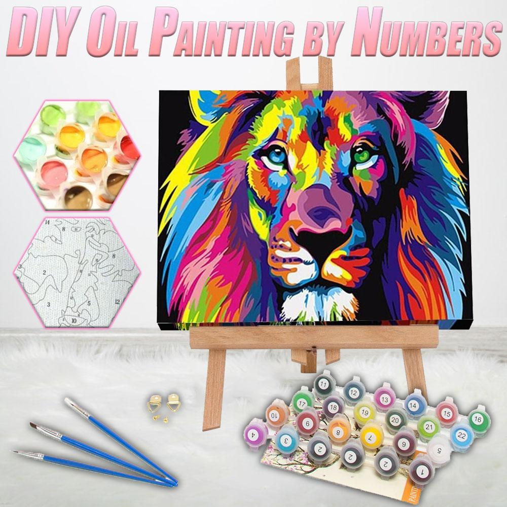 DIY Oil Painting by Numbers