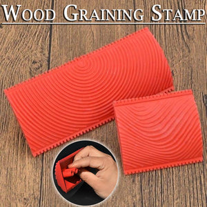 Wood Graining Stamp
