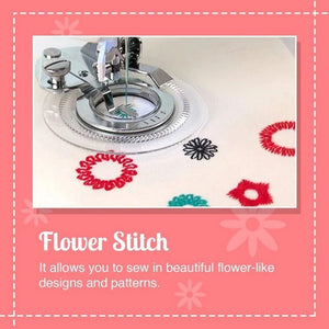 Circular Embroidery Presser Foot