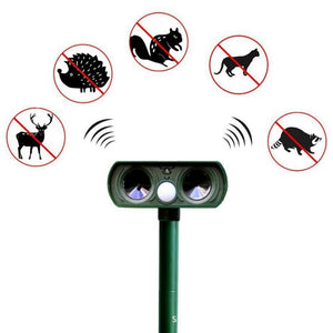 Solar Ultrasonic Animal Repellent