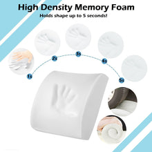 Load image into Gallery viewer, Memory Foam Lumbar Support