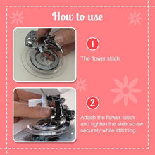 Load image into Gallery viewer, Circular Embroidery Presser Foot