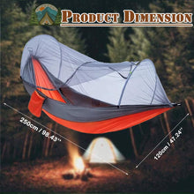 Load image into Gallery viewer, Anti-mosquito Camping Hammock