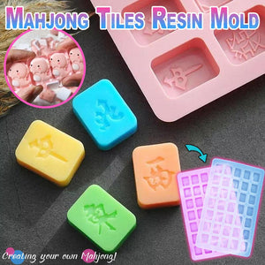 Mahjong Tiles Resin Molds