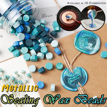 Load image into Gallery viewer, Metallic Sealing Wax Beads