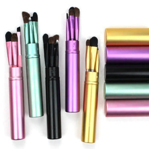 Portable Eye Makeup Brushes