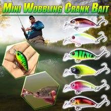 Load image into Gallery viewer, Mini Wobbling Crank Bait