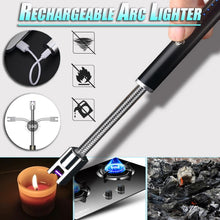 Load image into Gallery viewer, Rechargeable Arc Lighter