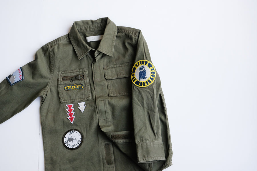 Chemise militaire ! STELLA MCCARTNEY ¡