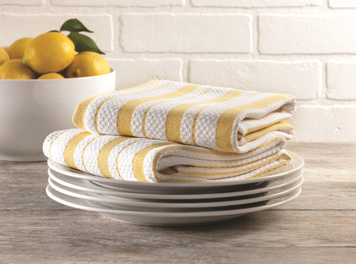 Stripe Kitchen Towel Set of 2