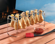 Load image into Gallery viewer, CHICKEN LEG/CHICKEN WING BBQ RACK