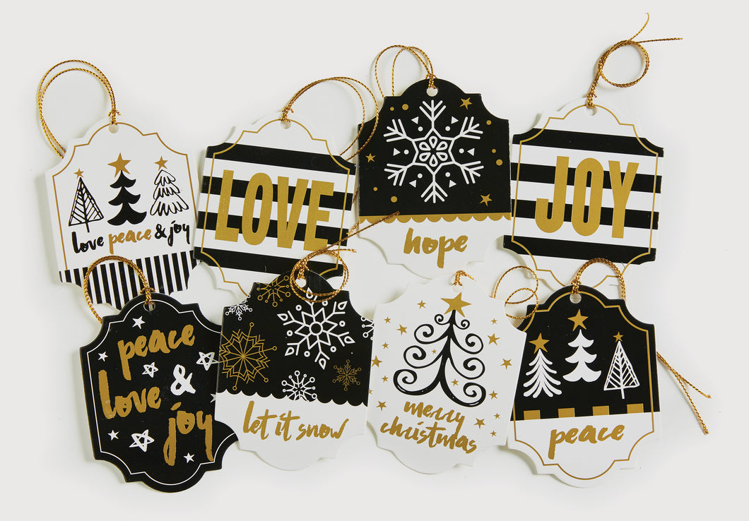 HOLIDAY CHIC HANG TAGS