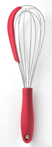 2 in 1 Whisk with Silicone Scraper