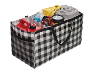 Black & White Buffalo Plaid Trunkster