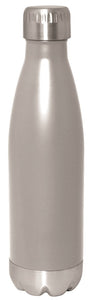 Silver Stainless Steel 17oz Bottle