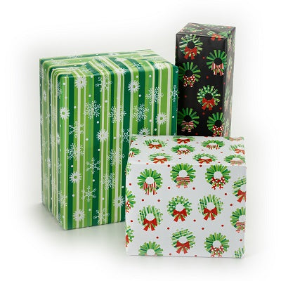 Contemporary Wreath 3-Roll Wrap Pack