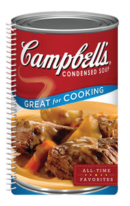 Branded Shaped Spiral Cookbooks - 6 book set