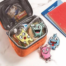 Load image into Gallery viewer, Little Monsters Ice Packs (set of 4)