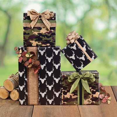 Camo Chic Jumbo Roll Wrap