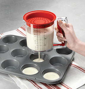 EASY RELEASE BATTER & GRAVY GREASE SEPARATOR