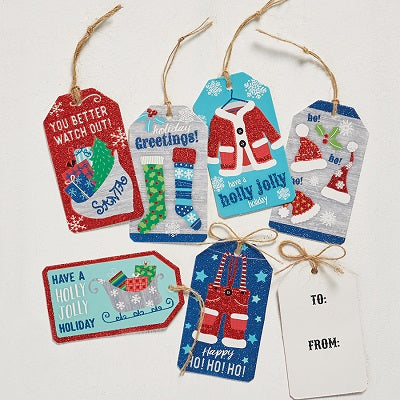 Santa Stuff Hang Tags