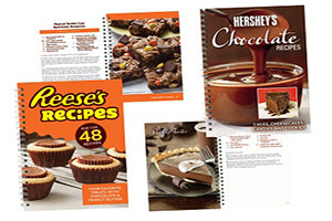 Reese's and Hershey's Chocolate Recipes, 2 Book Set