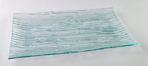 GLACIER GLASS DISH