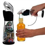 2-in-1 Creative Bottle Shaped Bottle Opener + Cap Collector Container Bottle